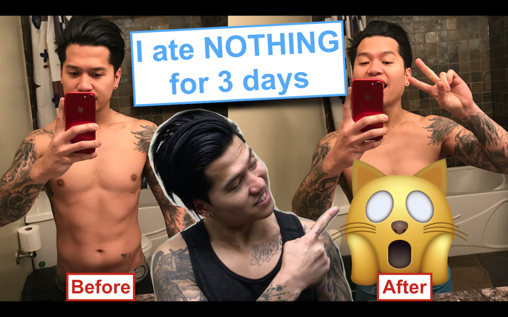 3 Days Water Fasting Weight Loss