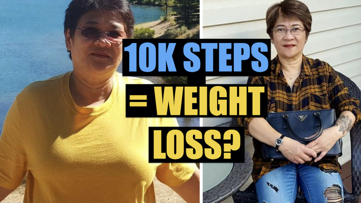 WALKING 10,000 STEPS A DAY FOR WEIGHT LOSS