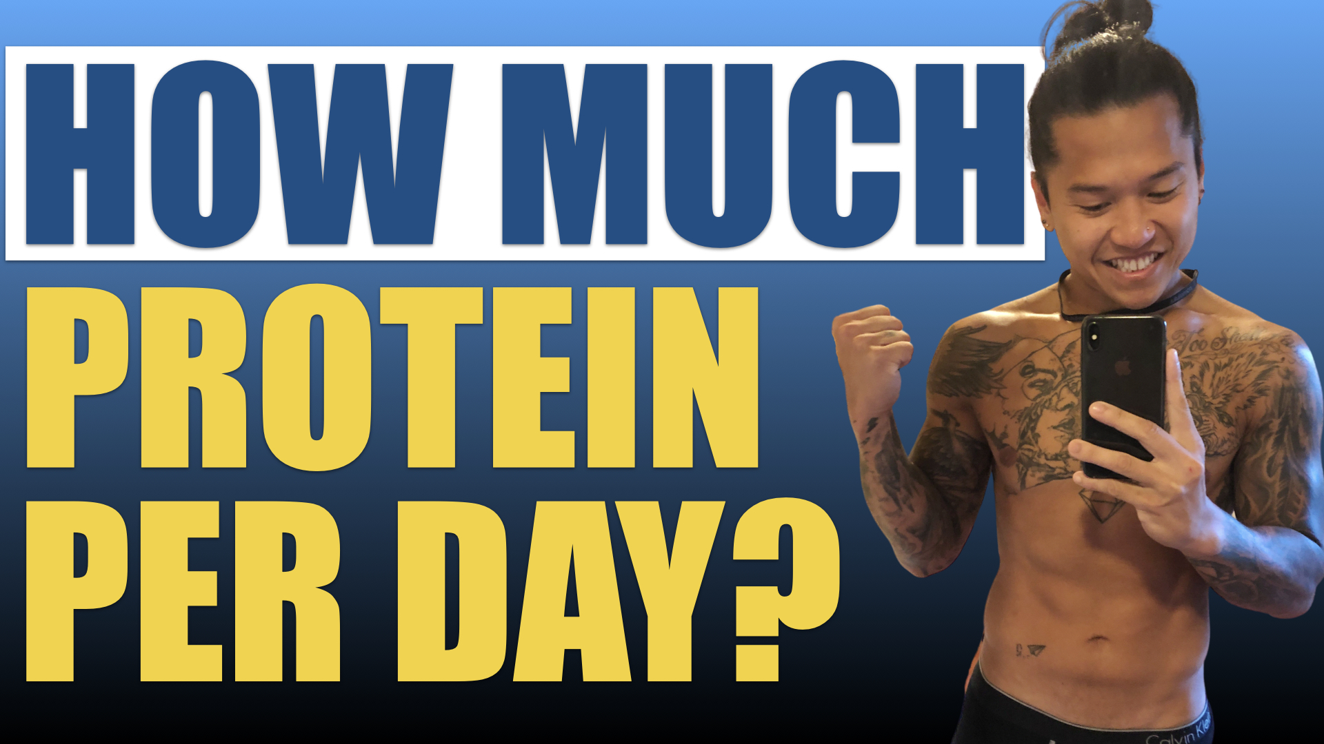 HOW MUCH PROTEIN DO YOU NEED A DAY